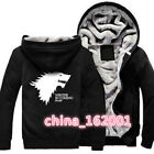 hot!  Throne of the cosplay costumes hoodie sweater coat garments Thickeni anime