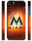 Miami Marlins Baseball iPhone 4S 5 5S 5c 6 6S 7 8 X XS Max XR Plus SE Case 4