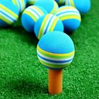 10 30PCS Golf Training Balls Swing Training Aids Indoor Practice Rainbow Sponge