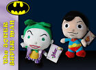 peluche dc comics marvel superman joker velluto 20 cm nuovo