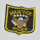 miami vice police Embroidery Iron on patch sewning For clothing applique Motif