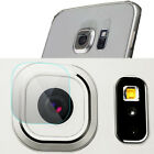 Tempered Glass Back Camera Lens + Flash Protector Film for Samsung S6 S7 edge +