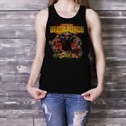 Five Finger Death Punch FFDP Women Black Tank Top Metal Band Singlet XS-2XL 4