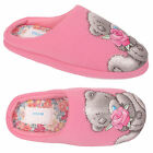 Ladies Womens Winter Warm Soft Plush Animal Print Indoor Home Slippers Shoe Mule
