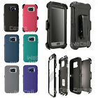 For Samsung Galaxy S7 & S7 Edge Case Cover (Belt Clip fits Otterbox Defender)