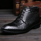 New Men's Shoes Vogue Business Genuine Leather Ankle Boots Size 5~9 10 11  37~44