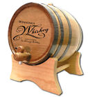 Whiskey Personalized American White Oak Wood Barrel For Aging Whiskey & Spirits