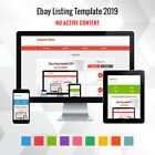 Professional eBay Listing Design | Mobile Friendly Dynamic Template Auction