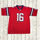 Shane Falco #16 Football Jersey The Replacements Movie 2000 Stitched Red New
