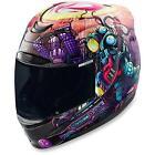 ICON AIRMADA SPACE BASS FACE FULL FACE MOTORCYCLE HELMET XS TO 3XL