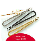 New Replacement Metal Chain Wrist Straps for Clutch Wristlet Purse Pouch