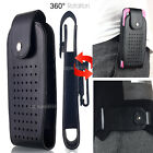 Leather Case Cover Pouch Rotating Holster Belt-Clip For Apple iPhone 6S 7 Plus