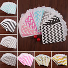 """25PCS 5X7"""" Xmas Paper Candy Bags Party Birthday Gift Popcorn Favour Buffet Pick"""