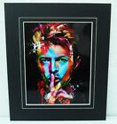 """Classic """"David Bowie"""" Photo in Thick Black Mount.  Many Choices."""