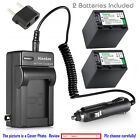 Kastar Battery and Normal Charger Kit for Sony NP-FV100 D...