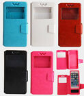 UNIVERSAL CASE FOR CUBOT BOGO ELEPHONE FLY PU LEATHER COVER + FREE GIFTS