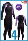7/5mm Womens NeoSport  Wetsuit Full SCUBA 7mm Core Cold Water Wetsuit WARRANTY 4