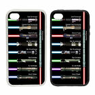Lightsaber Jedi List Collection - Rubber and Plastic Phone Cover Case - funny