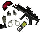 MP5 SWAT Kids Toy SWAT Set With Toy MP5 SWAT Goggles Handcuffs Grenades & PDA