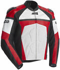 CORTECH ADRENALINE LEATHER JACKET RED WHITE MEDIUM MD 8971-0101-05