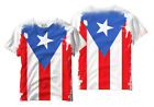 PUERTO RICO FLAG ALL OVER PRINTED T-SHIRT