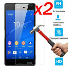 2Pcs Real 9H Tempered Glass Screen Film Protector For Sony Xperia Z3 Z5/Compact