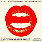 Lips Wall  Stickers decals