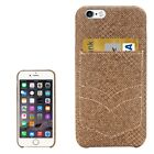 iPhone 6 & 6s Jeans Pocket Texture Protective Back Case with Card Slot