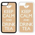 Funny Keep Calm Printed PC Case Cover - Tea Beige - S-G1044