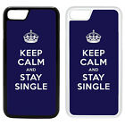 Funny Keep Calm Printed PC Case Cover - Single - S-G1037