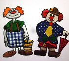 HAPPY CLOWNS * EMBROIDERED PATCH * THERMOADESIVE
