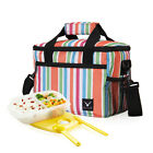 Insulated Thermal Cooler Lunch Box Bag Tote Picnic Food Container Storage Bag