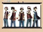 Anime pokemon poke ball Wall Scroll Poster Home Decor Whole Role 4 style