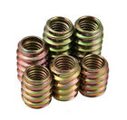 QTY10 Hardened M6 M8 Wood Furniture Internal & External Thread Nut Embedded Nuts