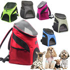 Portable Puppy Pet Dog Breathable Double Shoulder Backpack Travel Carrier Bag