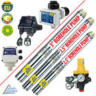 BOREHOLE PUMP WATER DEEP WELL AUTOMATIC PRESSURE SWITCH FLOW CONTROL SUBMERSIBLE