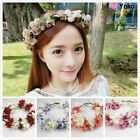 New Boho Style Floral Flower Party Wedding Hair Wreaths Headband Hair Band