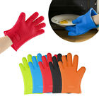 Silicone Oven Glove Heat Resistant Mitt Pot Holder Baking BBQ Cooking Protector