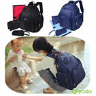 Yodo Baby Nappy Bag Backpack XL Changing Mat Diaper Pad Organizer Stroller Strap