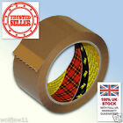 3M™ Scotch® | Box Sealing Parcel Packing 371 Tape | 25mm x 66m | Buff Brown