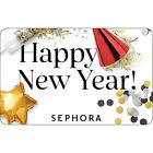 Sephora Gift Card - Happy New Year - $25 $50 or $100 - Email delivery
