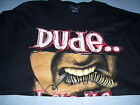 FEAR FACTOR - DUDE I ATE THE WORM T SHIRT L