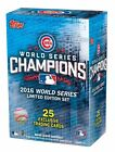 2016 Topps Chicago Cubs World Series Champions 25 Card Box Set Kris Bryant +