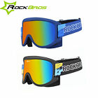 ROCKBROS Bicycle Snow Ski Glasses Anti-Fog Protective Cycling Outdoor Goggles