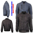 Mens Quilted Jacket Winter Warm Quilts Diamond Hunter Bomber Padded Coat Gents