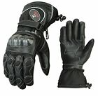 ISLERO thermal Leather Motor bike Motorcycle Gloves Carbon Fiber Knuckle Racing