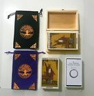 ++A.E.WAITE TAROT CARDS/VELVET TAROT POUCH/HAND-CARVED BOX INDIVIDUAL OPTIONS++