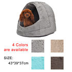 Puppy Pet Dog Kennel Igloo Beds Kitten Cat Warm Hut Winter Cozy Bed Small House
