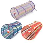 Pet Cat Tunnel Toy Folding Funny Tunnel Kitten Cat Dog Rabbit Playing With Ball