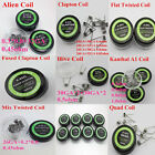 Electronic Gadgets Twisted/Tiger/Hive/Clapton//Mix Heating Wire RDA Coil 10pcs